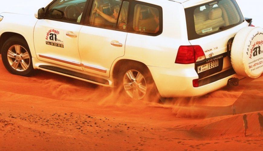 Desert safari with dune bashing